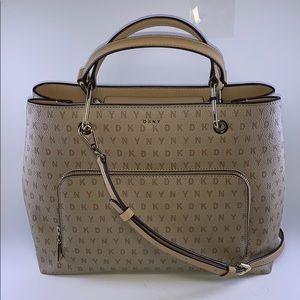 Dkny Bags - DKNY logo triple compartments medium satchel